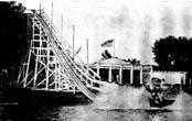 Water Toboggan Slide, 1925